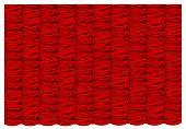 vector red silk curtain