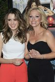 LOS ANGELES - FEB 10:  Laura Marano, Leigh Allyn Baker at the