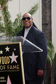LOS ANGELES - JAN 28:  Stevie Wonder at the Ken Ehrlich Hollywood Walk of Fame Star Ceremony at a Capital Records Building on January 28, 2015 in Los Angeles, CA
