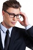 Businessman Thinking About Solutions