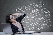 Chinese Manager With Tax Pressure