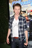 LOS ANGELES - FEB 10:  Calum Worthy at the