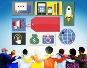 Branding Identity Marketing Concept