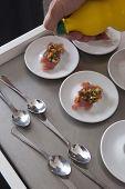 Raw Tuna And Vegetable