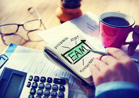 image of asset  - Enterprise Asset Management EAM Evaliation Operations Accounting Concept - JPG