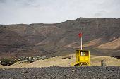 image of canary-islands  - The coast of Atlantic ocean on Lanzarote island Canary islands Spain - JPG