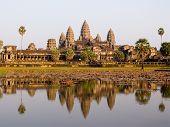 Angkor Wat In The Evening Light