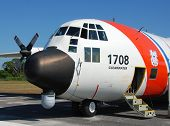 Us Coast Guard C-130 Patrol Airplane