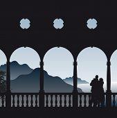 Romantisch uitzicht