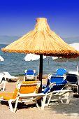 Mediterranean Coast In High Summer. poster