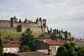 Famous Cite Castle in Carcasonne