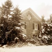 Old House In Winter, Sepia