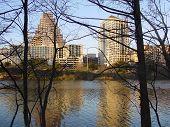 Austin Texas Winter Reflection