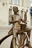 Bronze Cyclist