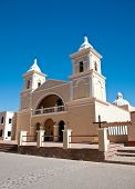 picture of old spanish trail  - Beautiful old colonial church in northern Argentina - JPG