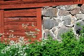 Rustic Barn Wall