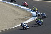 Motorcycle Grand Prix in Laguna Seca, California