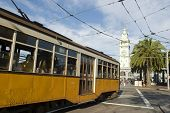 Trolley or also know as tram, San Francisco's public transportation