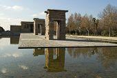 Debod Temple Madrid Spain