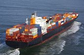 image of container ship  - Container Ship - JPG