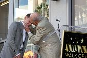 LOS ANGELES - SEP 19:  Jon Cryer, Carl Reiner at the Jon Cryer Hollywood Walk of Fame Star Ceremony