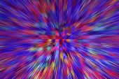Abstract Multicolored Explosion. Texture With Color Abstractions. Creative Abstract Patterned Backgr poster