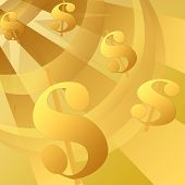 Gold Money Background