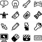 Applications Icon Series Set
