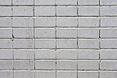 parede de tijolos brancos