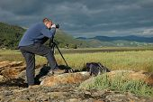 A Photographer In Snowdonia