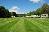 Caravan Site In Snowdonia