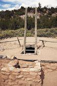 Kiva In Jemez State Monument