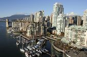 View Of Yaletown And Burrard Bridge From Granville