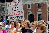 Religious Freedom Rally in Buffalo, NY
