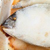Baked Dourada Fish