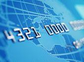 Macro de cartão de crédito