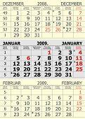 Vector Calendar-January