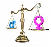 Gender Inequality Balancing Scale