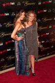 BEVERLY HILLS, CA - MAY 21: Heather McDonald and Sarah Colonna pose together at the Gracie Awards Ga