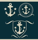 Anchors vintage set