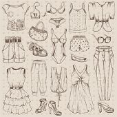 Clothes set for girl spring,summer