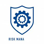 Risk Capital Outline Icon. Thin Line Concept Element From Risk Management Icons Collection. Creative poster