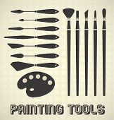 Painting Tools Collection