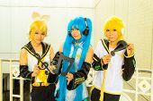 Japanese Anime Cosplay In Comic Party 46Th.