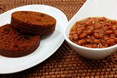 Baked Beans And Brown Bread