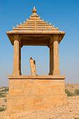 Maharajas Cenotaphs, Bada Bagh, India
