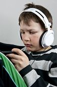 Boy With Earphones
