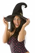 Blue Eyes Witch Hat