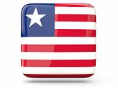 Square Icon Of Liberia