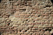 Ancient Roman Brick Wall Background